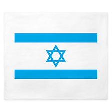 Israel Flag - Magen David King Duvet