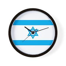 Israel Flag - Magen David Wall Clock