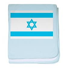Israel Flag - Magen David baby blanket