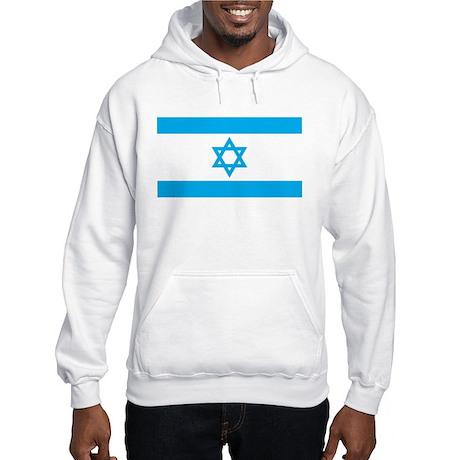Israel Flag - Magen David Hooded Sweatshirt