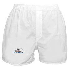 Kayak Girl Boxer Shorts