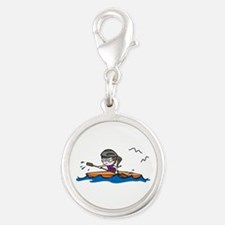 Kayak Girl Charms