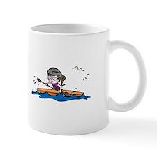 Kayak Girl Mugs