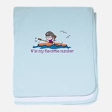 V Favorite baby blanket