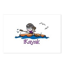 iKayak Postcards (Package of 8)