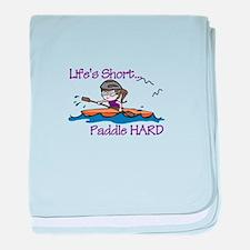 Paddle Hard baby blanket