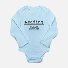 Without Commercials Long Sleeve Infant Bodysuit