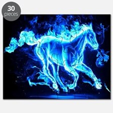 Flamed Horse Puzzle