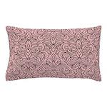 Art Deco Damask pink Pillow Case