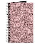 Art Deco Damask pink Journal