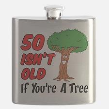50 Isn't Old Tree Flask