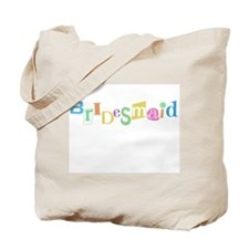 Cool Text Bridesmaid Tote Bag