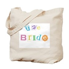 The Bride Cool Text Tote Bag