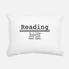 Dreaming Rectangular Canvas Pillow