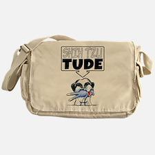 Shih Tzu Tude Messenger Bag