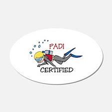 Padi Certified Wall Decal