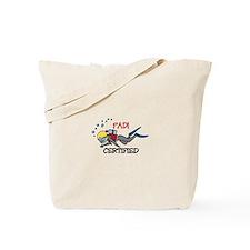 Padi Certified Tote Bag