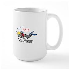 Padi Certified Mugs