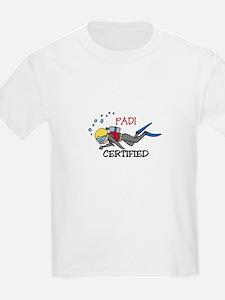 Padi Certified T-Shirt
