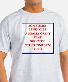 Unique Clay pigeon shooting T-Shirt