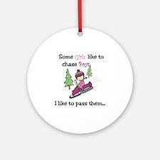 Pass Boys Ornament (Round)