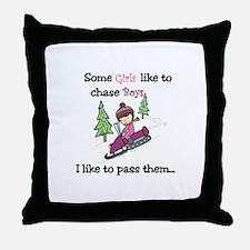 Pass Boys Throw Pillow