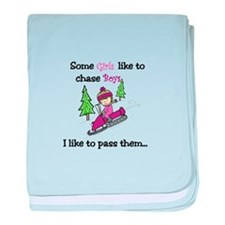 Pass Boys baby blanket