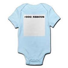 Dog Rescue Hashtag Body Suit