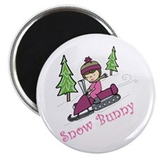 Snow Bunny Magnets
