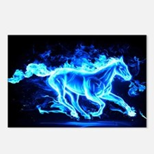 Flamed Horse Postcards (Package of 8)