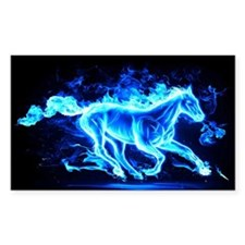 Flamed Horse Decal