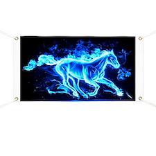 Flamed Horse Banner