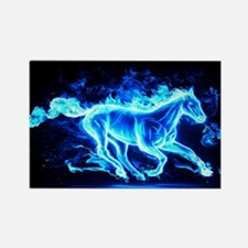 Flamed Horse Magnets