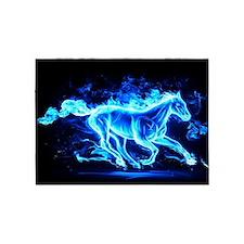 Flamed Horse 5'x7'Area Rug
