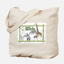 Born to breastfeed Tote Bag