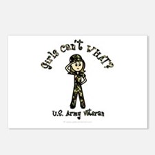 Light Army Veteran Postcards (Package of 8)