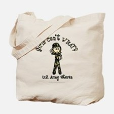 Light Army Veteran Tote Bag