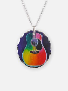 Unique Musical rainbow Necklace