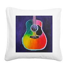 Cute Colorful Square Canvas Pillow