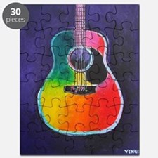 Unique Guitar Puzzle