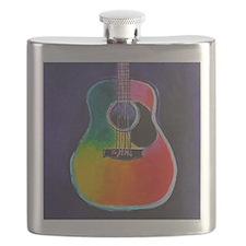 Cute Acoustic guitar Flask