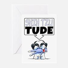 Shih Tzu Tude Greeting Cards