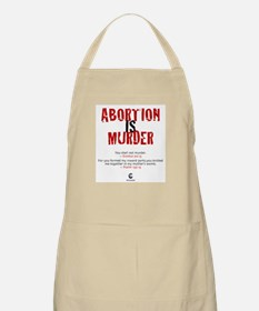 Abortion IS Murder - BBQ Apron