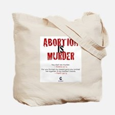 Abortion IS Murder - Tote Bag
