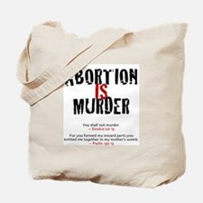 Abortion IS Murder 2.0 - Tote Bag