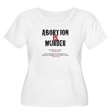 Abortion IS Murder - Women's +Sz Scoop Neck TS 2.0