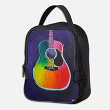 ACOUSTIC GUITAR Neoprene Lunch Bag