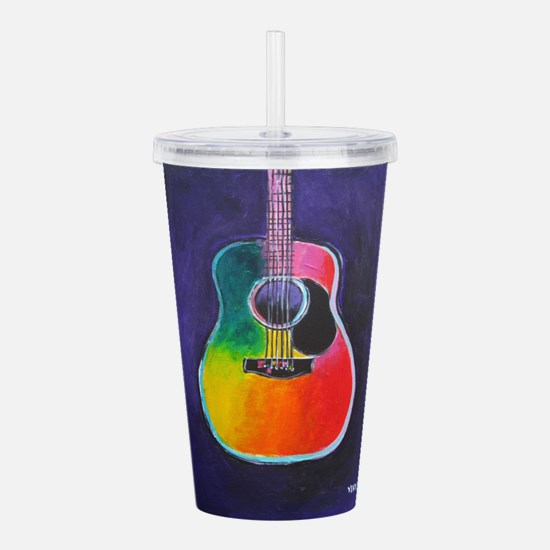 ACOUSTIC GUITAR Acrylic Double-wall Tumbler