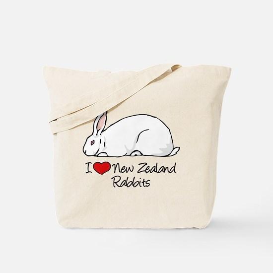 Funny Rabbits Tote Bag