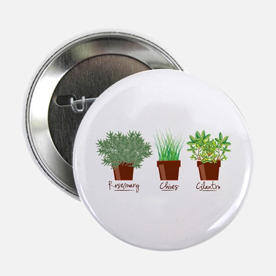 "Rosemary Chives 2.25"" Button"